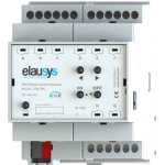 ELAUSYS MSA-810 - KNX Switch Actuator 8x10A Small