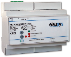 Elausys PS-640 - KNX Power Supply 640mA