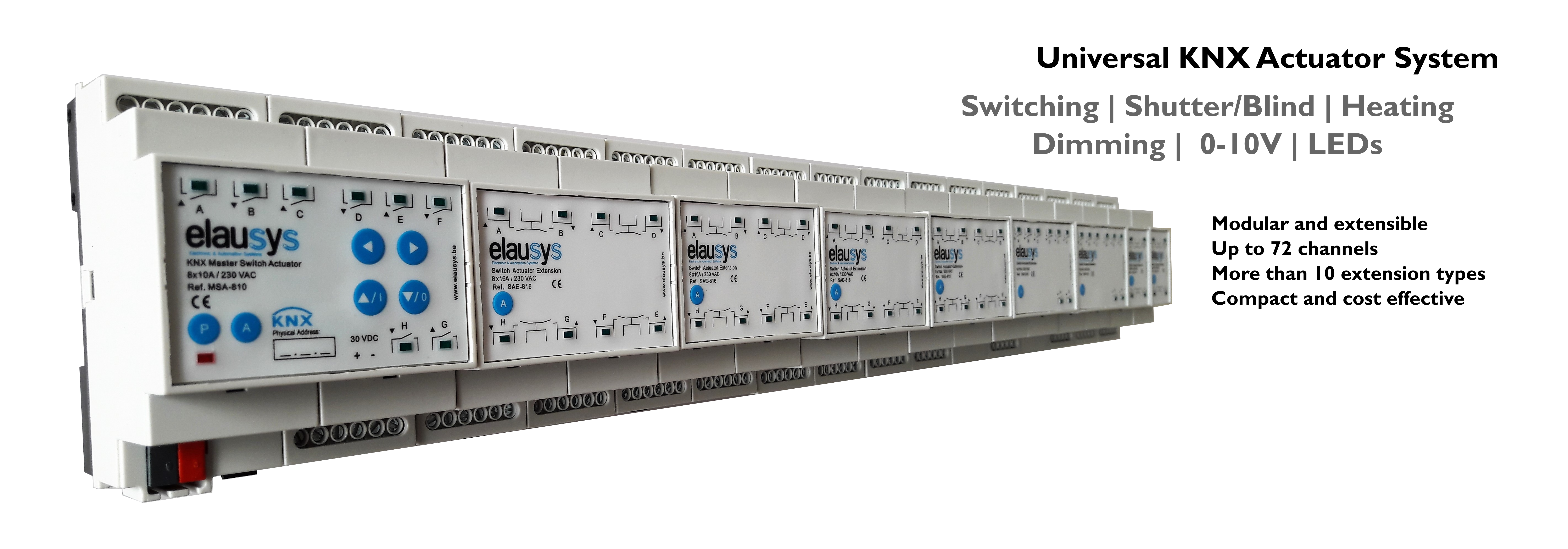 Elausys - KNX Universal Actuator System